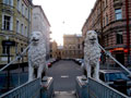 The Lion Bridge, Saint-Petersburg